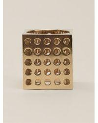 Kelly Wearstler - Metallic 'Cubist' Ring - Lyst
