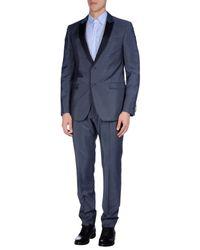 Fendi - Blue Suit for Men - Lyst