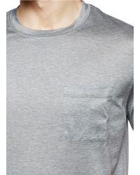 Valentino - Gray Zodiac Print T-Shirt for Men - Lyst