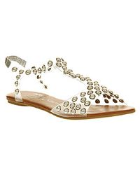 Jeffrey Campbell Puffer Pearls Clear Natural Pearls