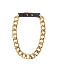 Jenny Bird Metallic Riri Collar - Gold