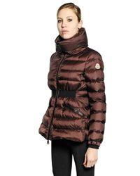 Moncler - Brown Talcy Matte Nylon Down Jacket - Lyst