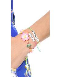 Venessa Arizaga - Multicolor Aloha Hola Bracelet Set - Lyst