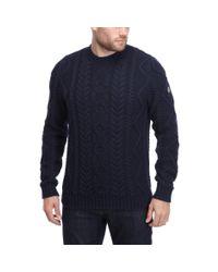 Henri Lloyd | Blue Griston Regular Crew Neck Knit for Men | Lyst