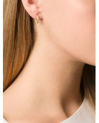 Wouters & Hendrix | Metallic Small 'thorn' Hoop Earrings | Lyst