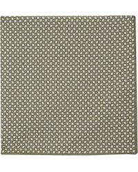 Brunello Cucinelli | Multicolor Square-Patterned Pocket Square - For Men for Men | Lyst