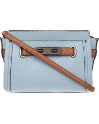 COACH Multicolor Swagger Leather Cross-body Bag