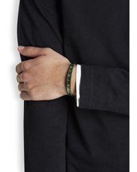 Speedometer Official | Green Marine Steel Bracelet for Men | Lyst