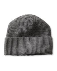 Banana Republic | Gray Waffle-knit Extra-fine Merino Wool Beanie for Men | Lyst