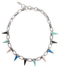 Joomi Lim - Metallic Multicolour Spike Choker Necklace - Lyst
