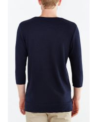 Timberland - Blue 3/4-sleeve Thermal Tee for Men - Lyst