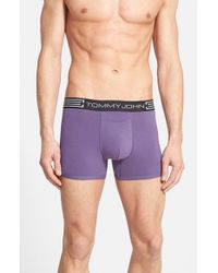 Tommy John | Purple 'cool Cotton' Trunks for Men | Lyst