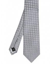 Jules B - Metallic Spot Pattern Silk Tie for Men - Lyst