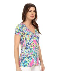 Lilly Pulitzer | Multicolor Michele Top | Lyst