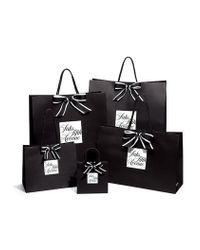 St. John - Black Boucle Melange Leather-trim Jacket - Lyst
