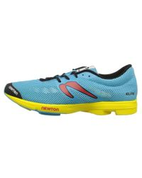 Newton Running - Yellow Distance Elite for Men - Lyst