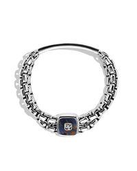 David Yurman | Metallic Exotic Stone Wide Id Bracelet for Men | Lyst