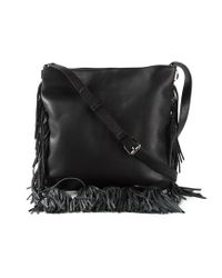 Rebecca Minkoff Black Kai Calf-Leather Cross-Body Bag