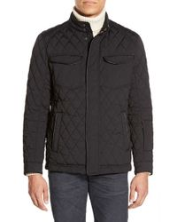 Tumi | Black Signature Quilted Water Resistant Jacket for Men | Lyst