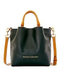 Dooney & Bourke Black City Small Leather Barlow Tote
