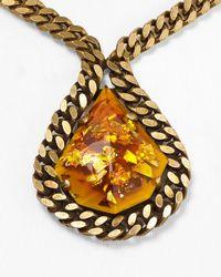 DANNIJO Metallic Rita Necklace 15
