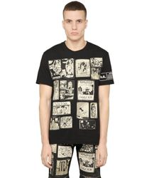 Haculla | Black Patchwork Cotton-jersey T-shirt for Men | Lyst