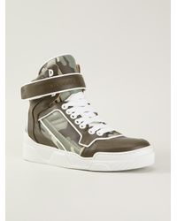 Givenchy Green Tyson Hitop Sneakers for men