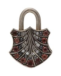 Sevan Biçakci - Metallic Sevan Biçakçi Gemstone Padlock Charm-Colorless - Lyst