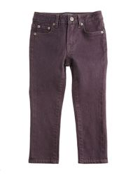 Vince Purple Slim-fit Stretch Jeans
