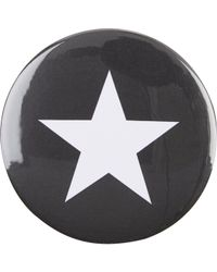 Givenchy - Black Star Pin - Lyst