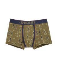 DIESEL | Green Divine Printed Boxers for Men | Lyst