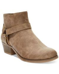 Kenneth Cole Reaction - Brown Dolla Bill Booties - Lyst