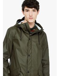 Mango | Natural Incorporated-visor Hooded Parka for Men | Lyst