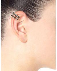 Maria Black | Black Double Sane Ear Cuff | Lyst