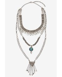 Nasty Gal | Metallic Raina Chain Necklace | Lyst