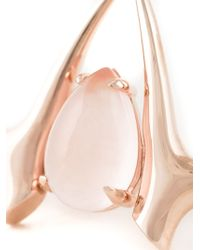 Shaun Leane | Metallic Rose Quartz Branch Ring | Lyst