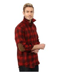 Pendleton | Red Long Sleeve Trail Shirt for Men | Lyst