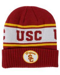 Nike Red Usc Trojans Sideline Knit Hat for men
