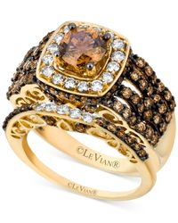 Le Vian | Brown Chocolate And White Diamond Engagement Ring Set (2-5/8 Ct. T.w.) In 14k Gold | Lyst