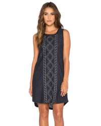 Somedays Lovin - Blue Trade Off Dress - Lyst