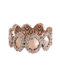 House of Harlow 1960 | Pink Geodesic Band Ring | Lyst