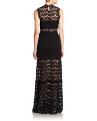 Nightcap - Black Dixie Lace Gown - Lyst