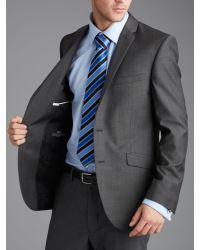 Paul Costelloe - Gray Slim Fit Grey Suit Jacket for Men - Lyst