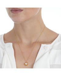 Alex Monroe | Metallic Apple Bite Necklace | Lyst