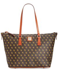Dooney & Bourke | Brown Leisure Shopper | Lyst