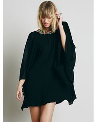 Free People - Black Jen's Pirate Booty Womens Tropicale Anjelica Mini Dress - Lyst