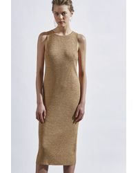 C/meo Collective - Metallic Shine On Dress - Lyst