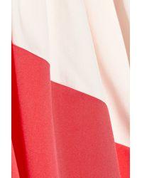 Vionnet | Pink Twotone Silk blend Gown | Lyst
