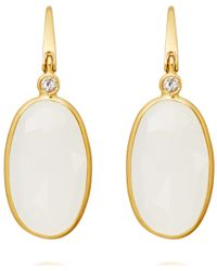 Astley Clarke | Metallic Moonstone Cassini Drop Earrings | Lyst