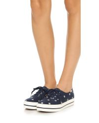 kate spade new york - Blue Keds For Kate Spade Triple Kick Dot Sneakers - Lyst